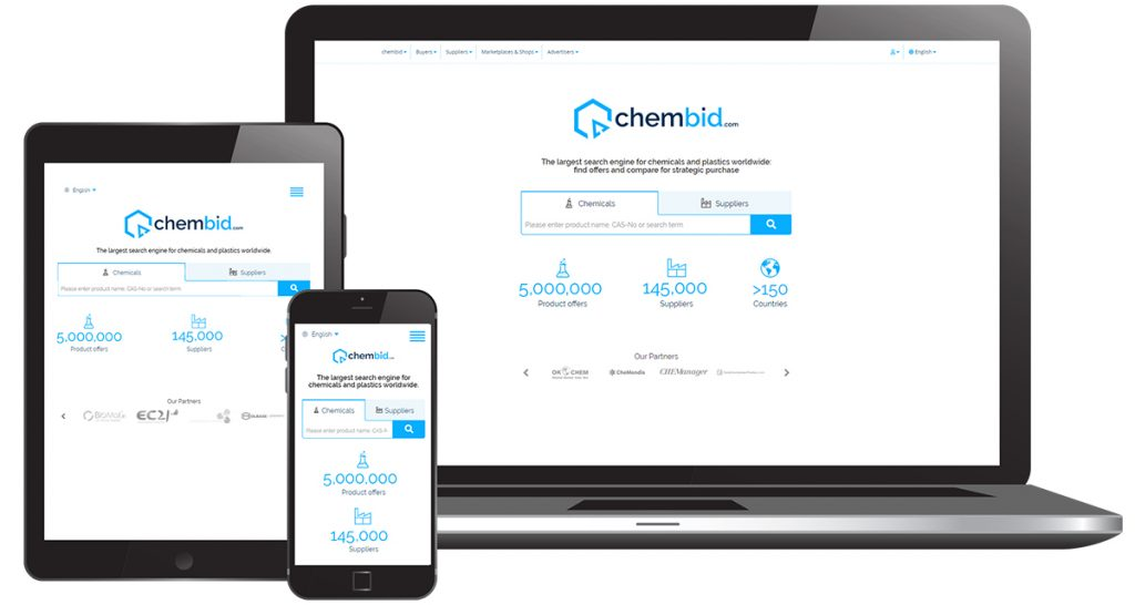 chembid - the world's largest search engine for chemicals and plastics